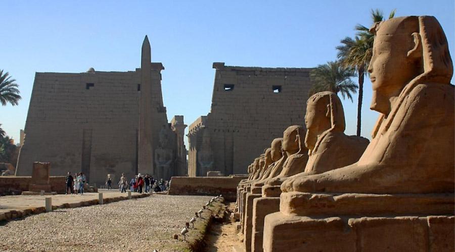 Luxor Temple, Sphinxallee, Luxor