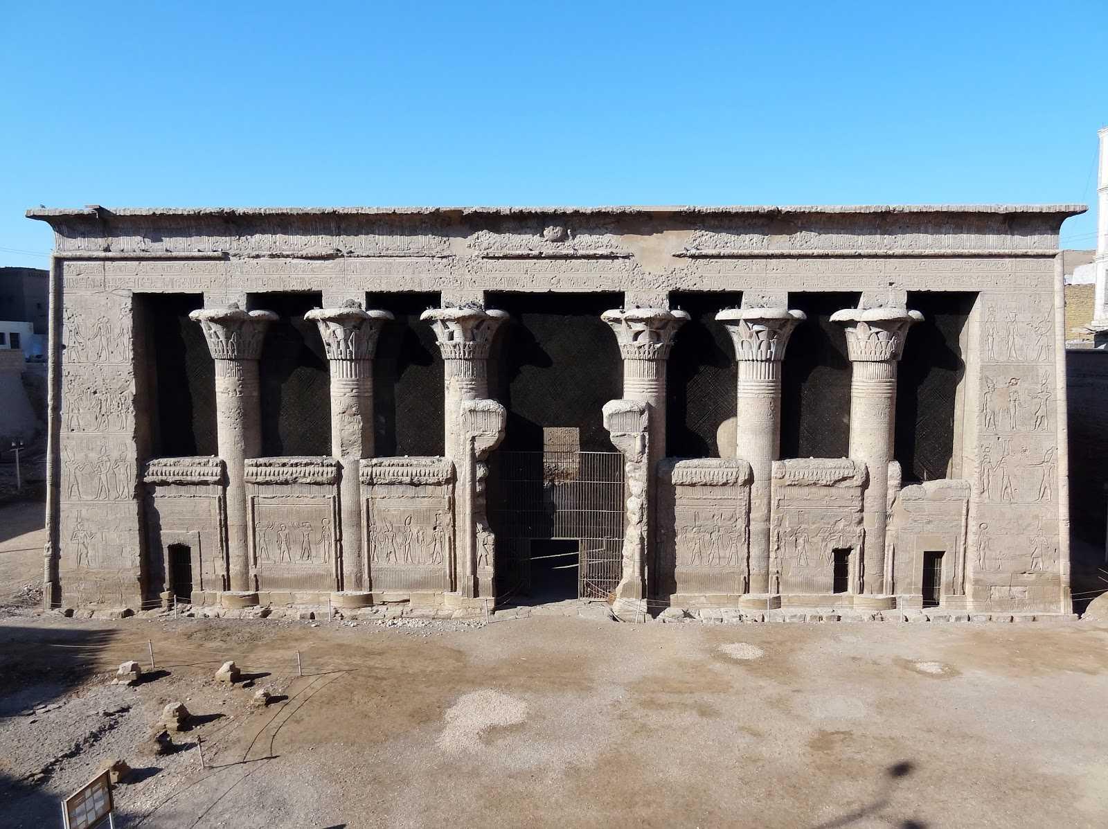 Der Tempel von Esna