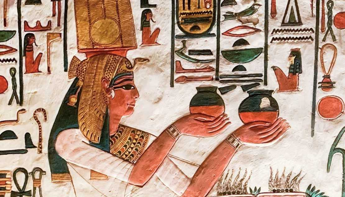 Das Grab der Nefertari im Tal der Königinnen