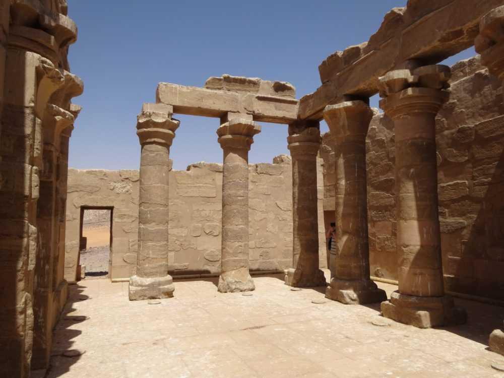 Der Tempel von Meharrakka