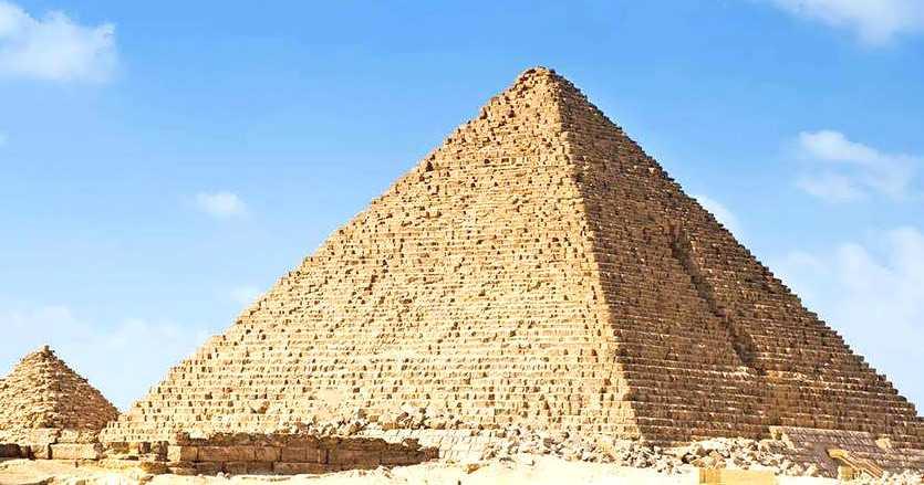 Die Pyramide von Mykerinos