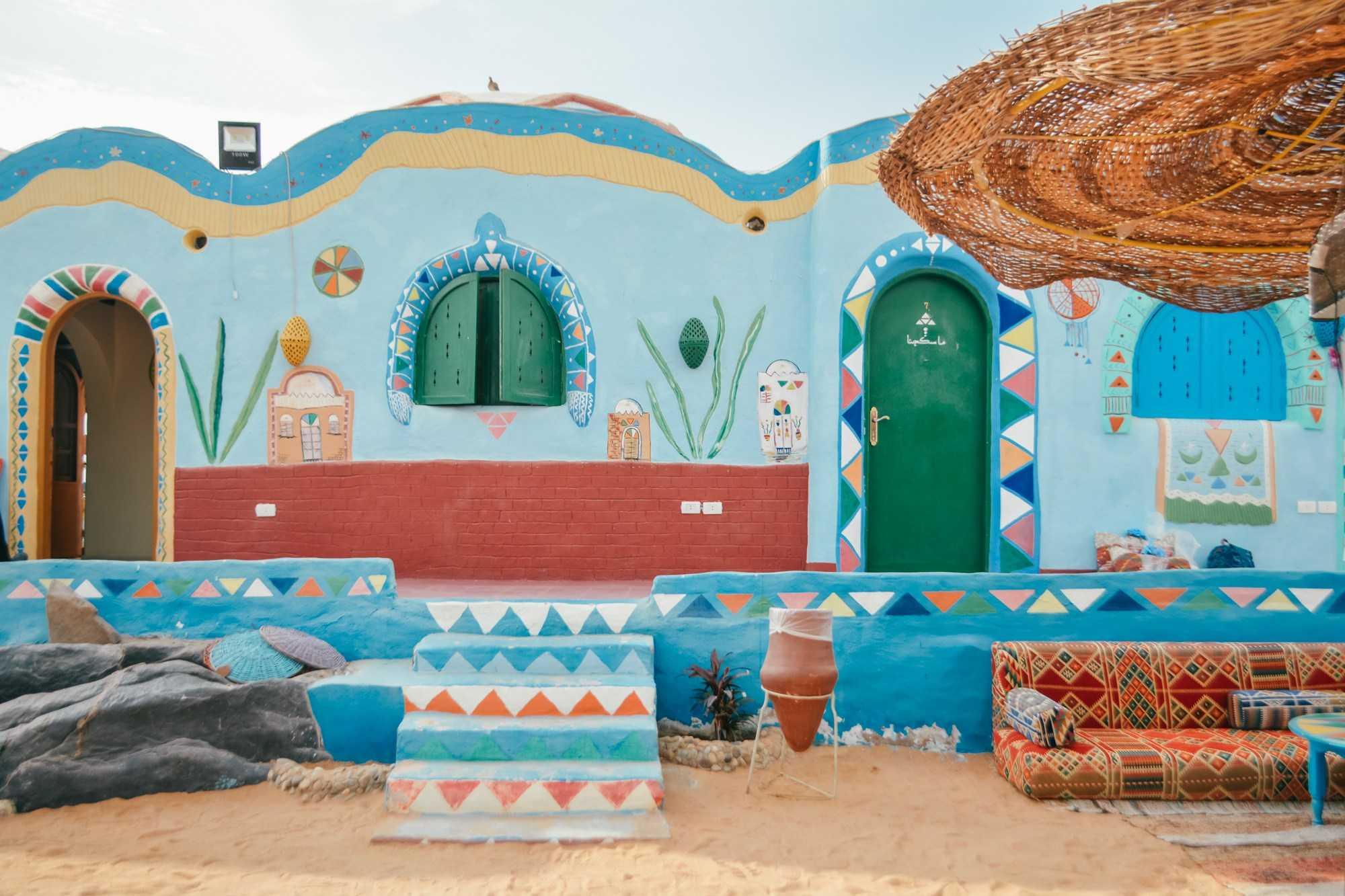 Die nubischen Dörfer auf der Elephantine Insel