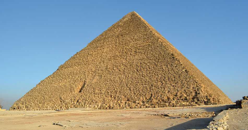 Die Große Pyramide von Cheops