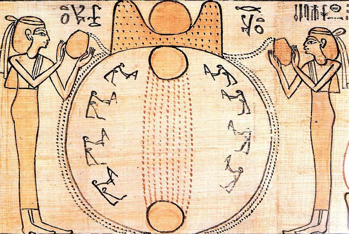 Schöpfungsgeschichte in der ägyptischen Mythologie