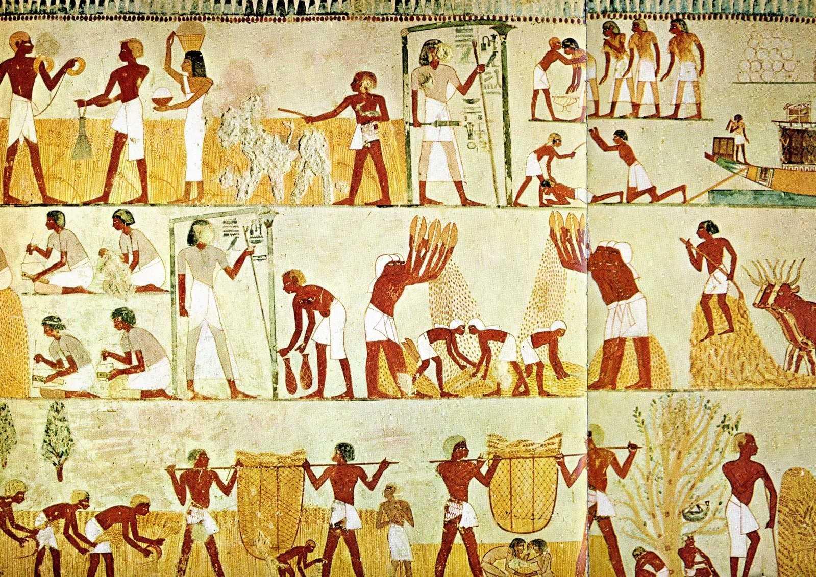 Das Tal der Noblen in Luxor
