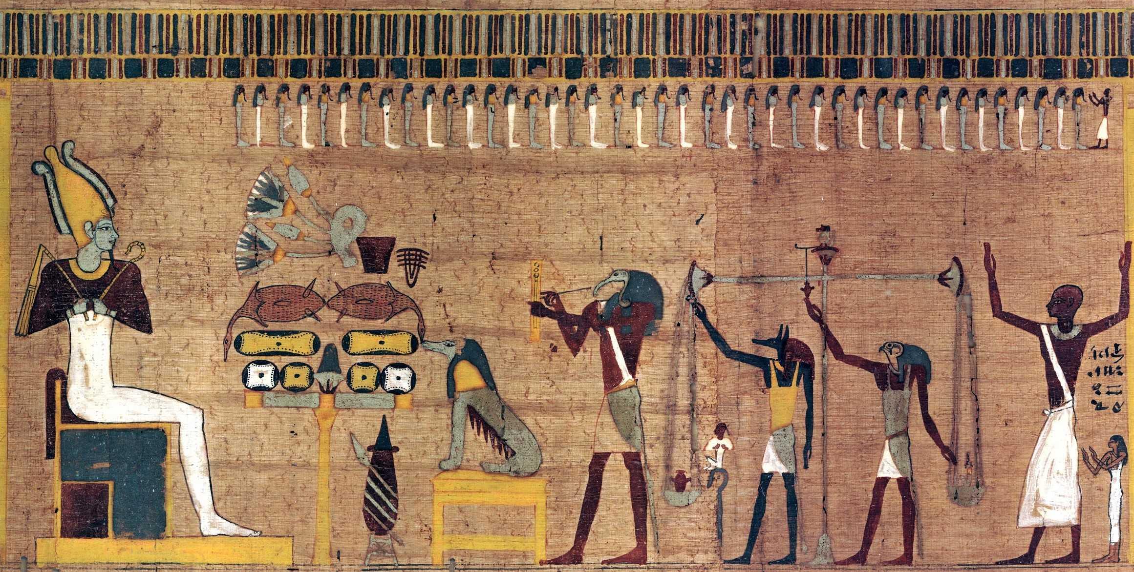 Das Totengericht im alten Ägypten