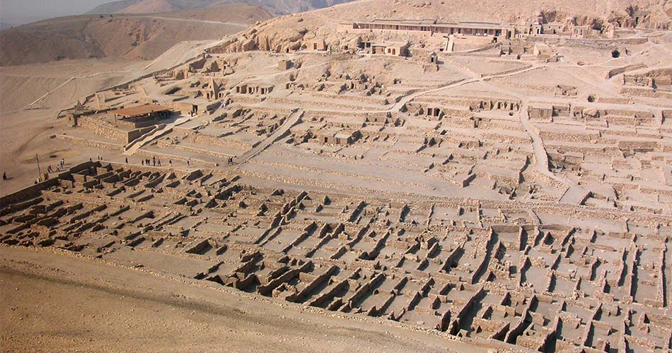 Ausflug zum Habu Tempel, dem Ramesseum und zur Deir El Medina ab Luxor