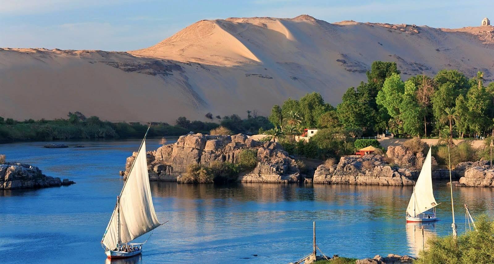 Ägypten Rundreise 1 Woche Kairo, Nilkreuzfahrt und Badeurlaub